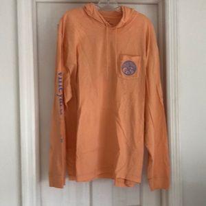 Vineyard Vines hooded tee shirt